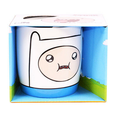 Adventure Time Finn Mug Cup Ceramic Tea Fan Gift New Official Licensed Product