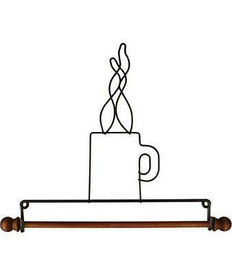 """Ackfeld 7.5"""" Coffee Cup Wire Wall Craft Quilt Textile Holder Hanger"""