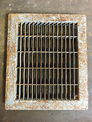 Vintage 1920S Cast Iron Heating Grate Cover Rectangular 10 X 12