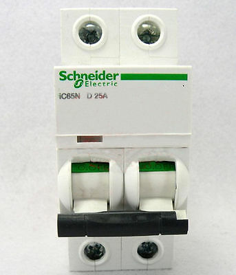 New Schneider small IC65N 2P D25A air circuit breaker switch