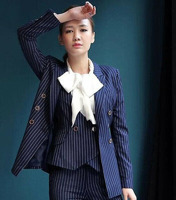 New Design Office Lady Suit Woman Blazers Casual Suit 3 Pieces of Lady Tuxedos