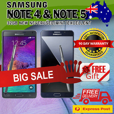 Samsung Galaxy Note 5 Note 4 32GB AS NEW Condition Unlocked Android Smartphone !