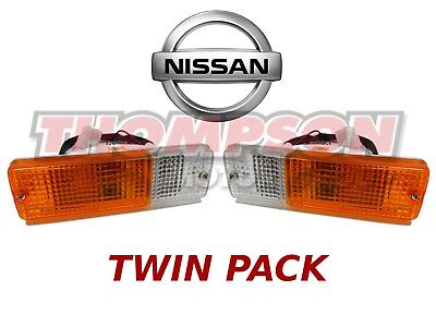 2x Navara Patrol Bullbar Light Parker/Indicator For Steel Bars