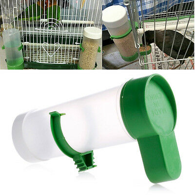 Bird Pet Drinker Feeder Food Waterer Clip for Aviary Cage Budgie Lovebirds Hot