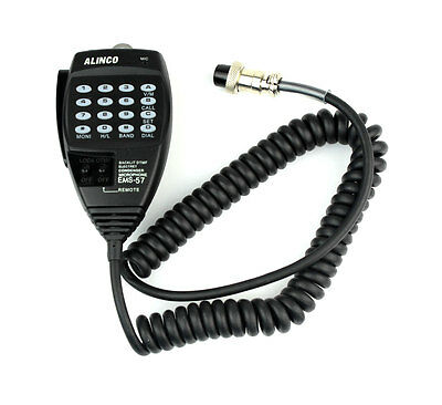 EMS-57 8-Pin Speaker Mic Microphone WITH keypad DTMF for Alinco Radio+track CO