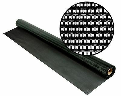 New 48 in. x 25 ft. Black SunTex 80 Heavy Duty Exterior Window Fabric Screen