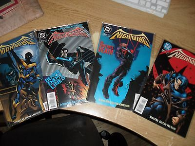 Nightwing 1-4 complete set (1995)