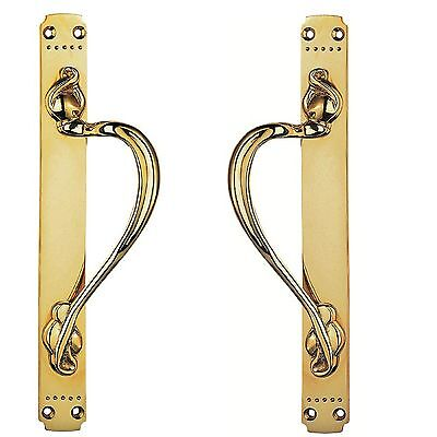 Carlisle Brass - PF109AR/L - Laurin Pull Handle - Colour- Polished Brass