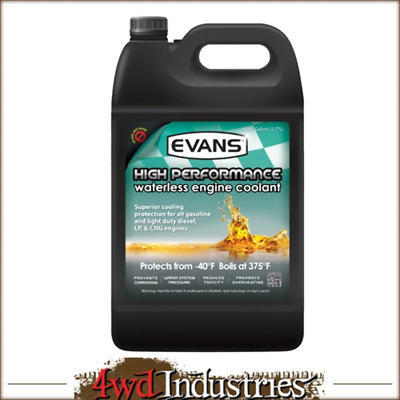 EVANS COOLANT Waterless High Performance Coolant No Water/ Overheating/ Pressure
