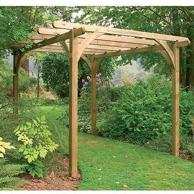 Ultima Pergola Kit 2.7 x 2.7m Garden Structure Outdoor Feature Frame