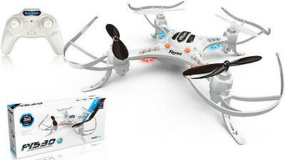 RC Quadcopter Fayee FY530 4 CH 2.4GHz 6 Axis Gyro 3D Mini Drone - Hubsan X4 Size