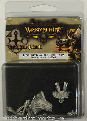 Warmachine Protectorate of Menoth Feora, Priestess of the Flame PIP 32065 - NEW