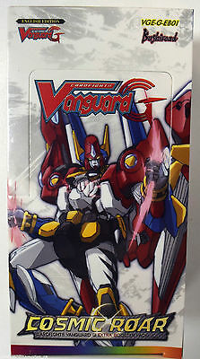 Cardfight!! Vanguard G Cosmic Roar Factory Sealed Extra Booster Box VGE-G-EB01