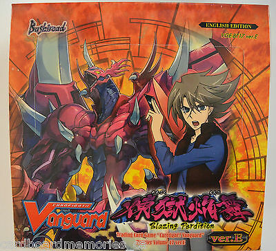 Cardfight!! Vanguard Blazing Perdition Factory Sealed Booster Box Volume 17 ENG