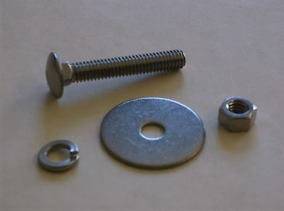 Pick Up Truck Bed Strip Bolts Nuts Washers - Stainless Steel