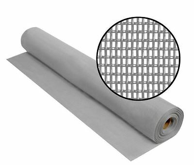 New 48 in. x 100 ft. Heavy Duty Gray Pet Tear Resistant Insect Screen Fabric