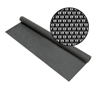 New 48 in. x 25 ft. Charcoal Window Door Super Solar Screen Insect Protection