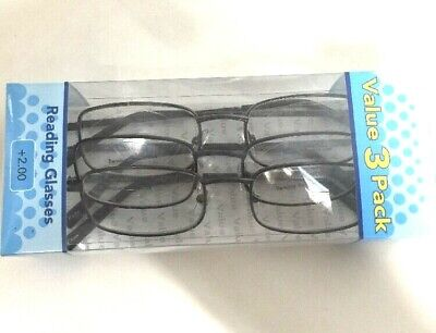 d733e46eac LOT OF 3 FOSTER GRANT MAGNIVISION Council READING GLASSES +1.50 NEW ...