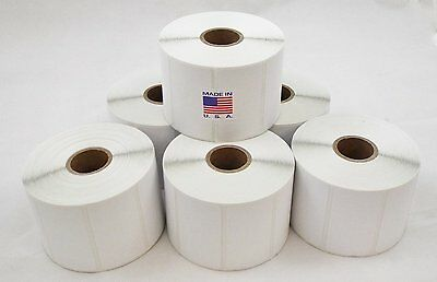 10 Rolls 2.25x1.25 Direct Thermal Shipping Labels - 1000/roll for Zebra LP2824