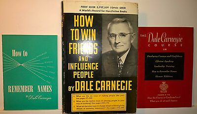 How to Win Friends & Influence People, Carnegie, 1952, Simon/Schuster (+extras)