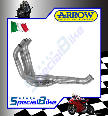 Collettori Scarico Racing Arrow Kawasaki Zx 6 R 636 Ninja 2005   2006 Inox