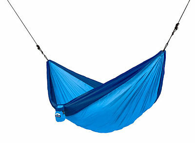 Brand New Chillax Double Travel Parachute Hammock - BLUE- Free Shipping
