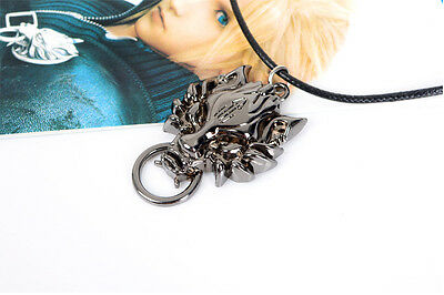Anime Final Fantasy Cloud's Wolf Totem Alloy Metal Necklace/Pendant for Fans