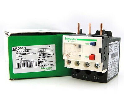 1PCS New Schneider Thermal Overload Relay LRD04C 0.4-0.63A