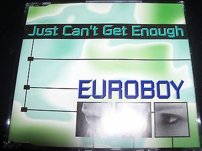 Euroboy Just Can't Get Enough Australian Remixes CD Single – Like New