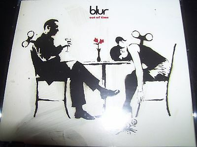 Blur Out Of Time UK 2 Track CD Single – Like New