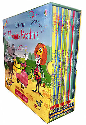 Usborne Phonics Readers 20 Books Collection Box Set Children Reading Books Pack