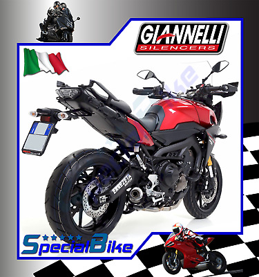 Scarico Completo Yamaha Mt-09 Tracer 2015 Giannelli X-Pro Nichrom Black