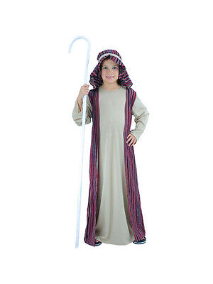 Child 5-7 Years Shepherd Party Fancy Dress Costume Christmas Xmas Kids Boys