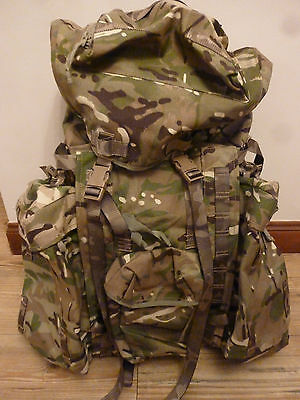 Mtp Rucksack And Frame Genuine British Army Issue With Side Pouches
