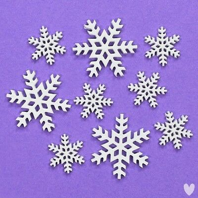 Buttons Galore Blizzard 4747 - Snowflakes Christmas Snow Xmas Dress It Up