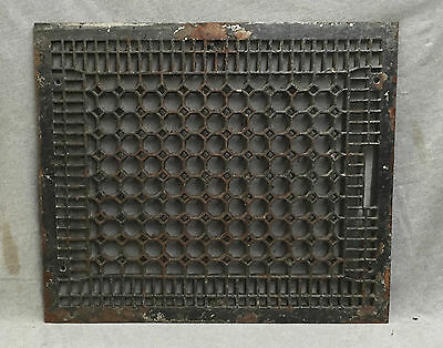 Antique Cast Iron Cold Air Return Heat Grate Honeycomb Vent Old 20x24 1567-16