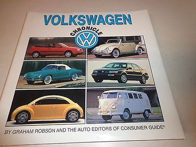 volkswagen chronicle by graham robson and consumer guide cad picclick ca. Black Bedroom Furniture Sets. Home Design Ideas