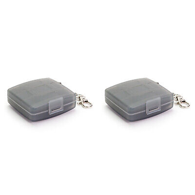 2 x JJC Memory Card Hard Storage Case Holder for 4 x XD 2 x CF 4 x Micro SD