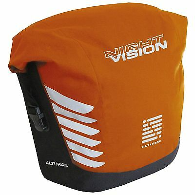 Altura Night Vision 20 Litre Bike/Cycle/Cycling Cargo Pannier Bag - Orange