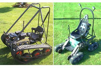 Personal Tracked Vehicle & Mantis Go Kart,TWIN PACK plans