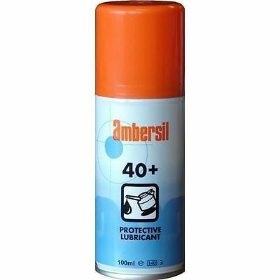 Ambersil 40+ Spray Lubricant, Releaser & Protecting Oil 400ML [AMB2591]