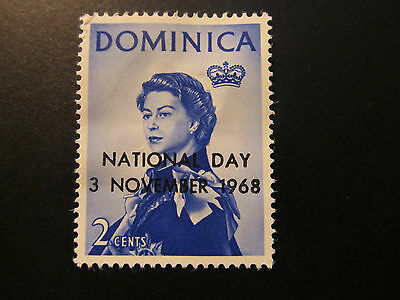 1968 - Dominica - Surcharged In Black - Scott 229 A20 2C