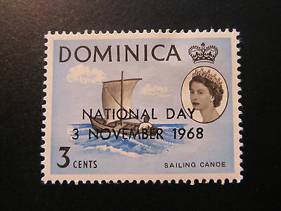 1968 - Dominica - Surcharged In Black - Scott 230 A19 3C