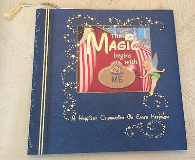 "Disney World Cast Member 50th Anniversary ""The Magic Begins With Me"" Book 2005"