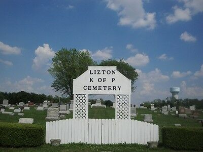 4 Cemetery Lots in Lizton, Indiana