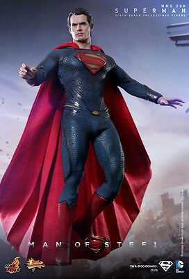 LAYBY! NEW MISB Hot Toys MMS200 Man of Steel: 1/6 Superman:  PRICE is $399.99