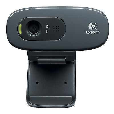 Logitech HD Webcam C270 Webcam HD w/ built-in microphone compatible Skype HY