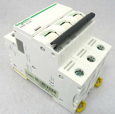 New Schneider small IC65N 3P D40A air circuit breaker switch