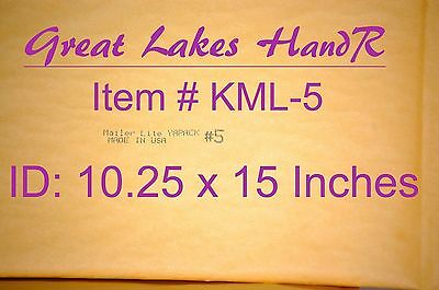 """Clearance 18 KML-2; Self-Sealing Kraft Bubble Cushioned Env Mailers 81//2/"""" x 11/"""""""