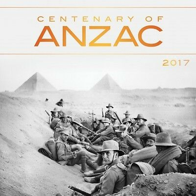 Centenary of ANZAC 2017 Mini Wall Calendar NEW by Browntrout